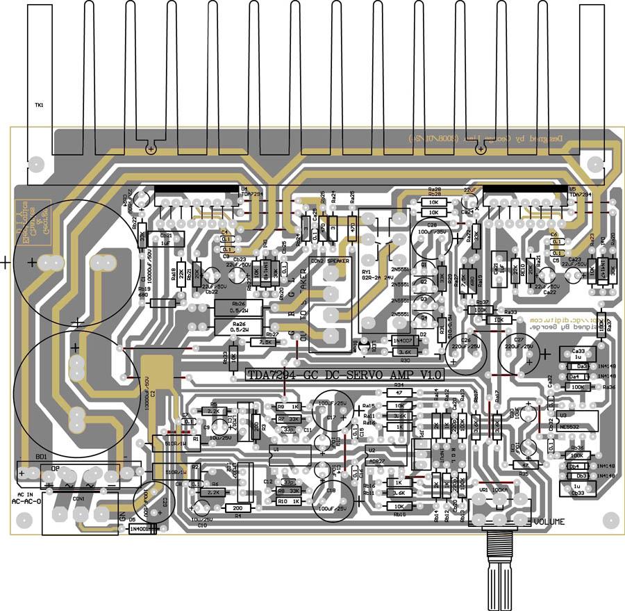 tda7294_tda7294功放电路图,tda7294电路图; ne5532经典电路图;