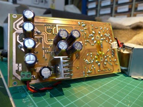 青柠6n2胆前级电路板
